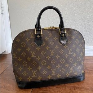 This Authentic Louis Vuitton Alma PM